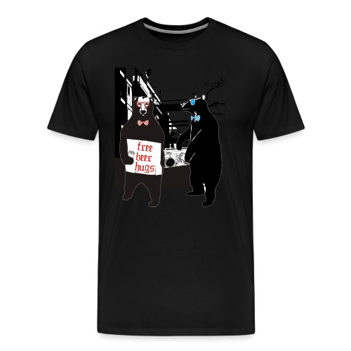 BEER BEARS - Miesten premium t-paita