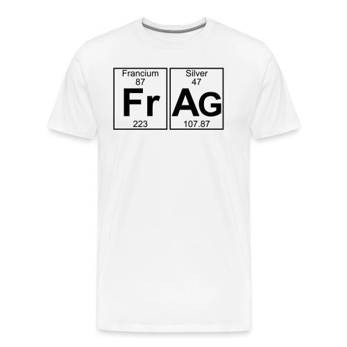 Fr-Ag (frag) - Full - Men's Premium T-Shirt