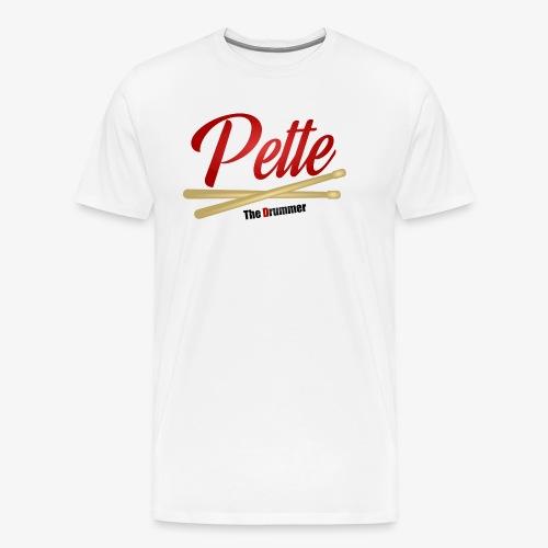 Pette the Drummer - Men's Premium T-Shirt