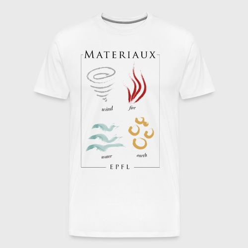 Materiaux EPFL - Männer Premium T-Shirt
