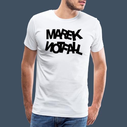 Marek Notfall Schwarz - Männer Premium T-Shirt