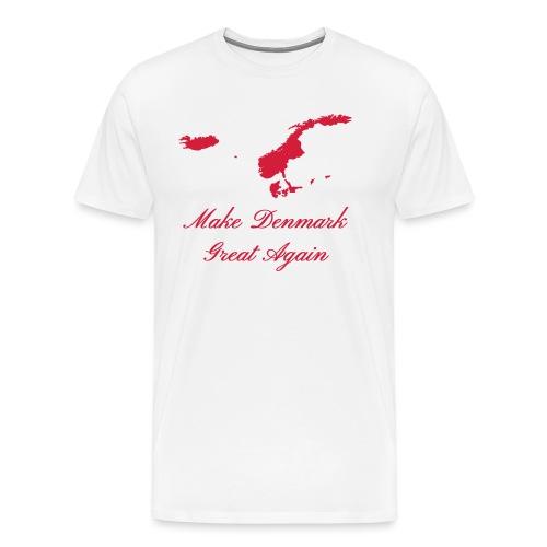 Make Denmark Great Again - Herre premium T-shirt