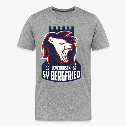 Logo Bergfried Alternative 02 Textur png - Männer Premium T-Shirt