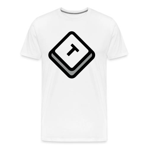 Tangent - Premium-T-shirt herr