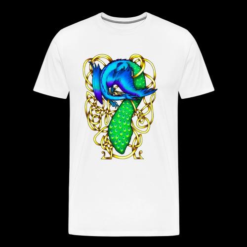 Peacock Dragon - Men's Premium T-Shirt