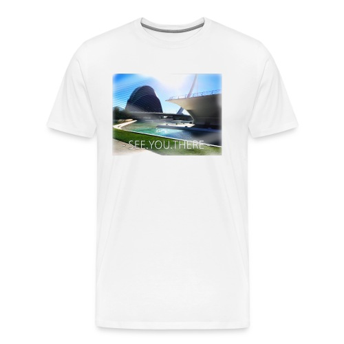 see.you.there - Männer Premium T-Shirt
