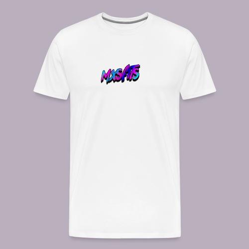 mxsfits logo - Men's Premium T-Shirt