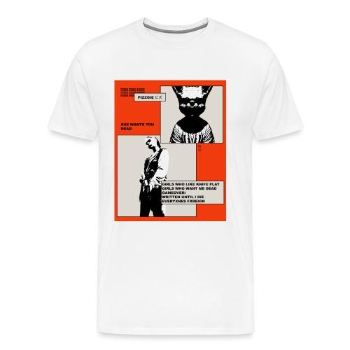 PROJECT Z - TRACK LIST TEE - Men's Premium T-Shirt