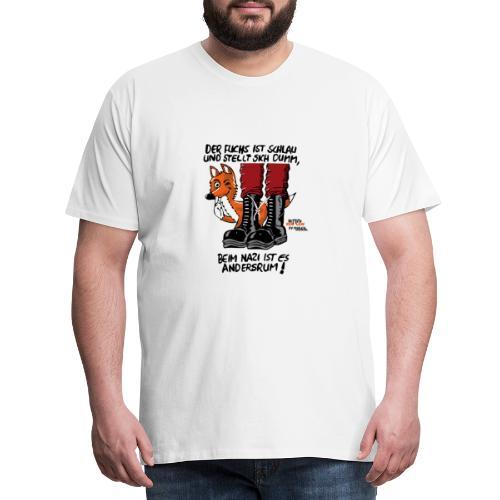 fuchsschlau - Männer Premium T-Shirt