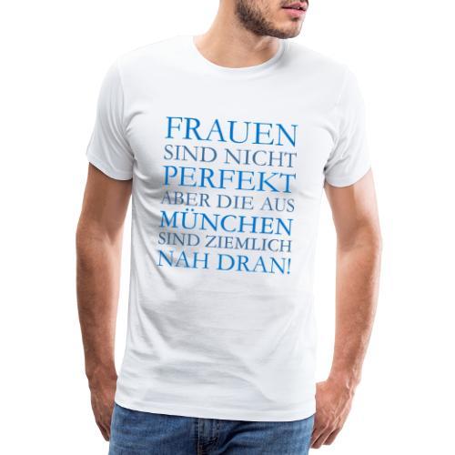 Frauen aus München (Blau) - Männer Premium T-Shirt