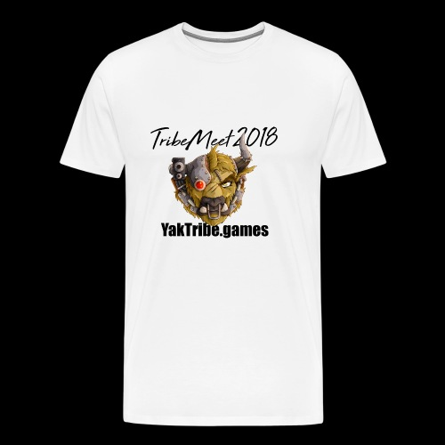 YakTribe TribeMeet 2018 Light - Men's Premium T-Shirt