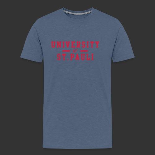 University - Männer Premium T-Shirt