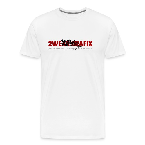 2wear Grafix Box Logo - Herre premium T-shirt