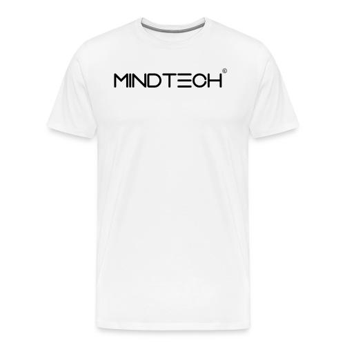 MindTech Schwarz - Männer Premium T-Shirt