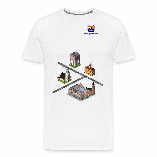 Raumagame mix for white / bale bg - Men's Premium T-Shirt