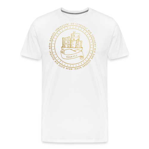 Psalm 91, 2 - Männer Premium T-Shirt