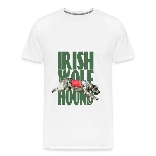 Irish wolfhound 14 - T-shirt Premium Homme