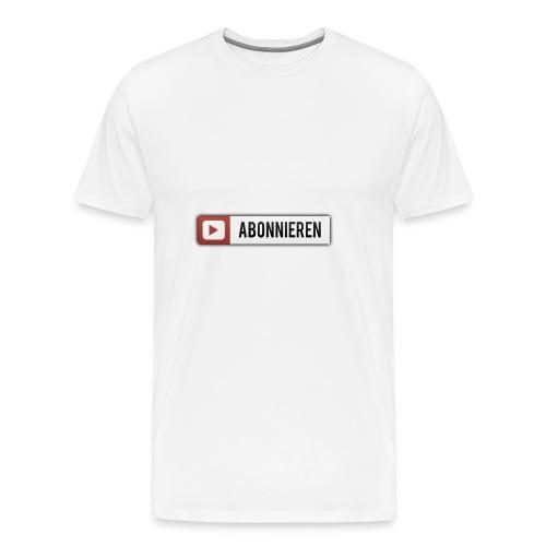 youtube - Männer Premium T-Shirt