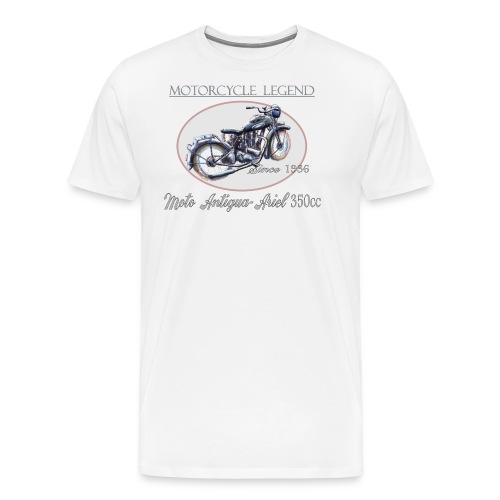 MOTO antigua ariel - T-shirt Premium Homme