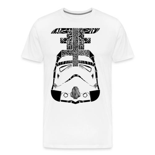 zuschnitt png - Männer Premium T-Shirt