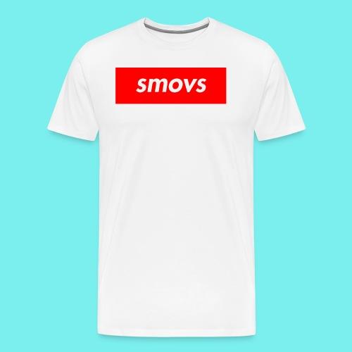 Smovs box - Herre premium T-shirt