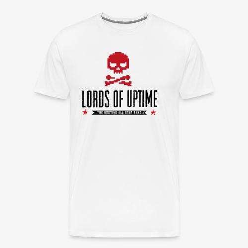 Lords of Uptime black - Männer Premium T-Shirt