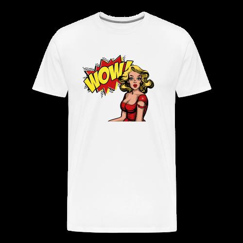 Il Comunista Latente, la donna. - Maglietta Premium da uomo