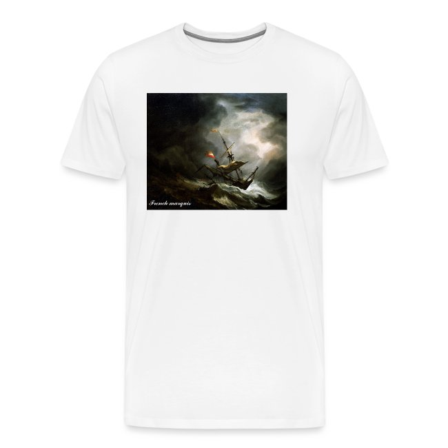 "T-shirt French marquis ""Storm"""