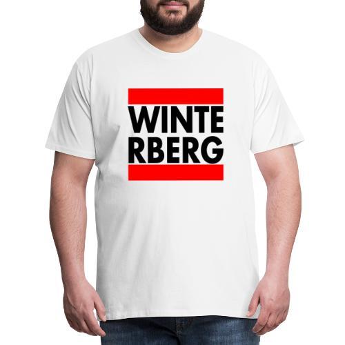 winterbergrunzrh png - Männer Premium T-Shirt