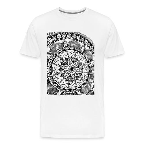 Aeolian Mandala - T-shirt Premium Homme