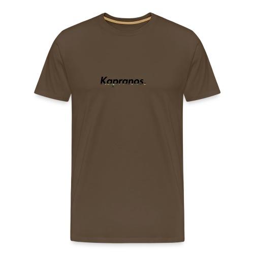 Kapranos Brand (Black / Camo) - Men's Premium T-Shirt