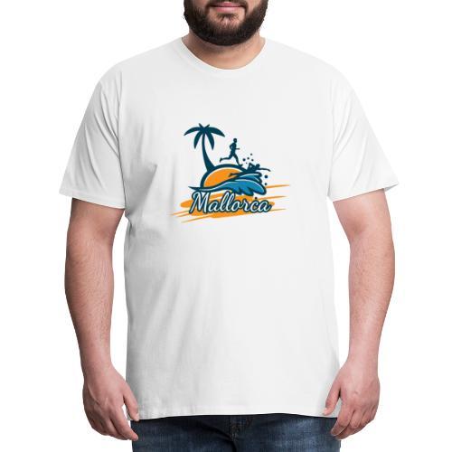 Joggen auf Mallorca - Sport - sportlich - Jogging - Männer Premium T-Shirt