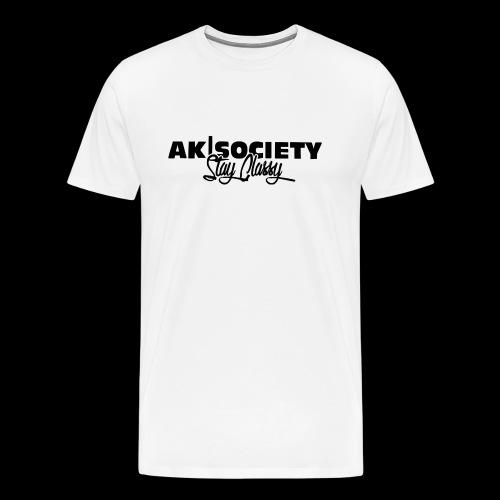 stay classy black png - Männer Premium T-Shirt