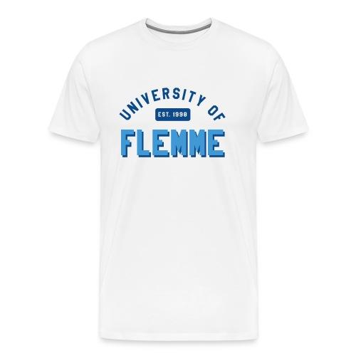 UniversityOfFlemme2 png - T-shirt Premium Homme