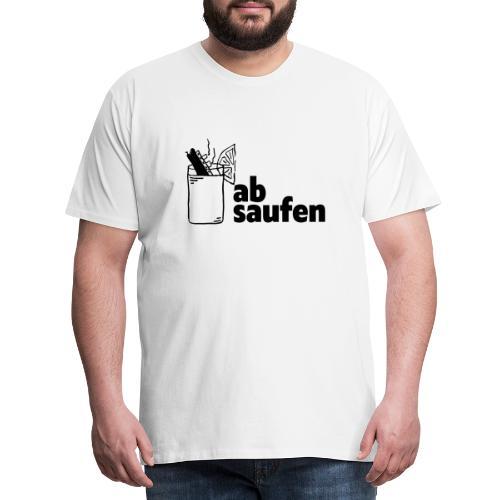 absaufen - Männer Premium T-Shirt