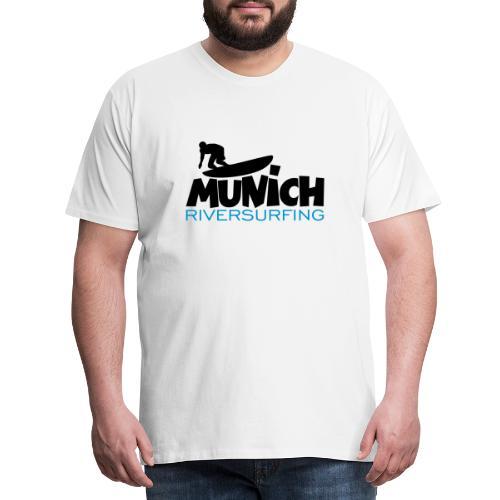 Munich Riversurfing München Surfer - Männer Premium T-Shirt