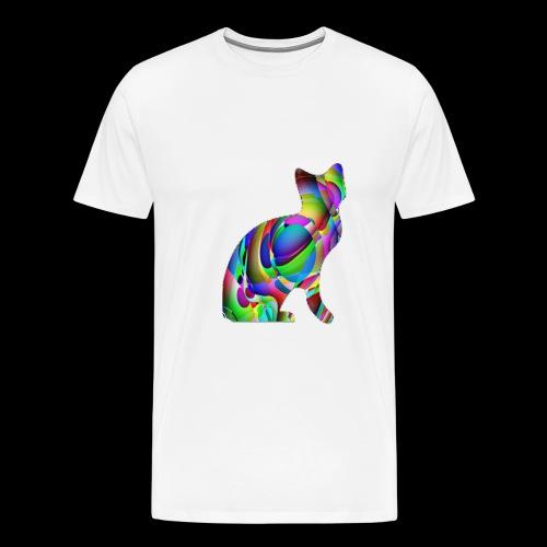 chat joueur - T-shirt Premium Homme