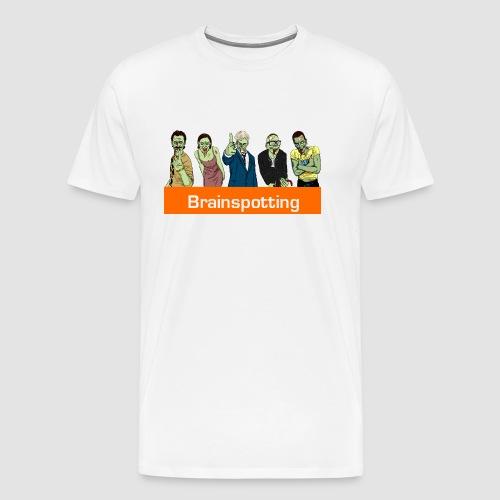 Brainspotting Zombies - Men's Premium T-Shirt