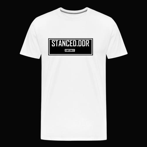 STANCED.DDR - Männer Premium T-Shirt