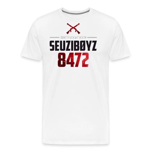 Seuziboyz Schwarz Rot - Männer Premium T-Shirt