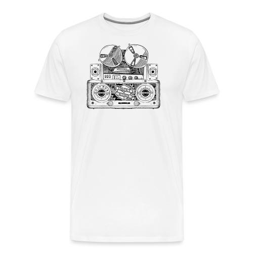 Old Radio - Men's Premium T-Shirt