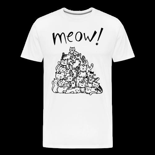 Meow! - Camiseta premium hombre