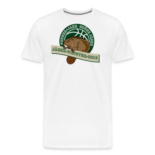 gj jaegermeister2013 - Männer Premium T-Shirt