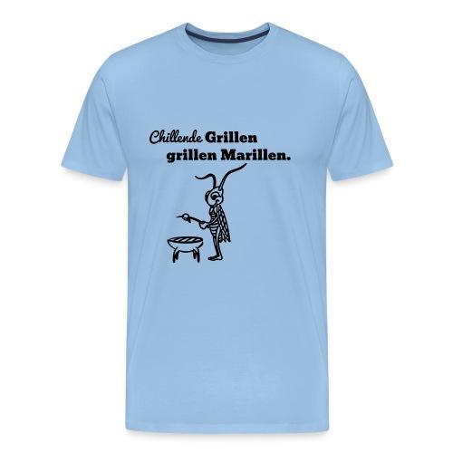grillen - Männer Premium T-Shirt