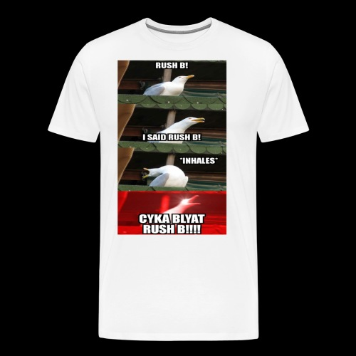 Logo Rush B - Männer Premium T-Shirt