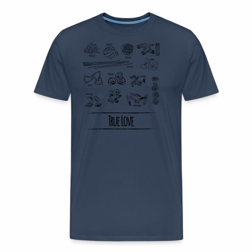 Pasta - My True Love - Männer Premium T-Shirt