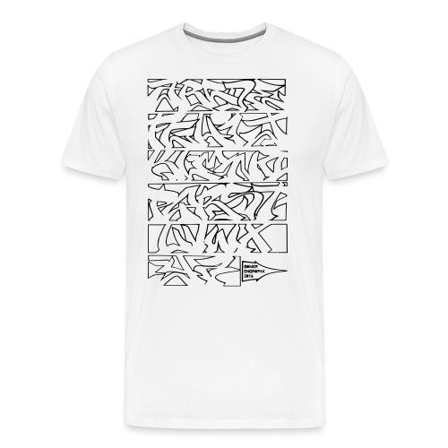 ALPHABET SOMER - T-shirt Premium Homme