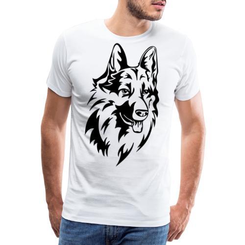 Hund - Premium T-skjorte for menn