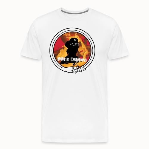 inner demons mit schlangenkreis - Männer Premium T-Shirt