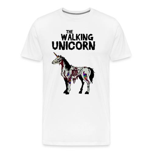 thewalkingUnicorn - Männer Premium T-Shirt